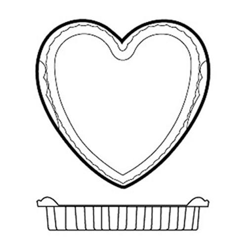 Silicone Heart Mold Set at Discount Sku 47786-04 WOR4778604