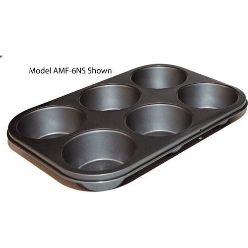 Winco - AMF-12NS - (12) 2 3/4 in Non-Stick Muffin Pan