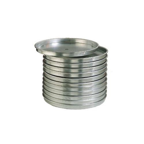 American metalcraft ha4018 18 in x 1 in deep pizza pan for Kitchen craft baking supplies