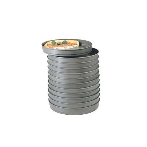 American metalcraft hc5011 11 in x 2 in stacking pizza for Kitchen craft baking supplies