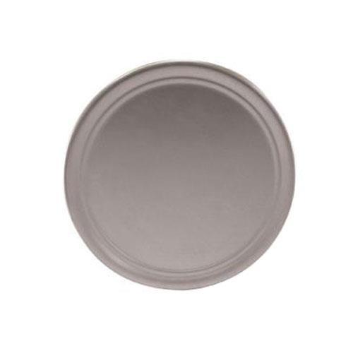 Winco APZT-10 10 in Wide Rim Aluminum Pizza Pan for Restaurant Chef
