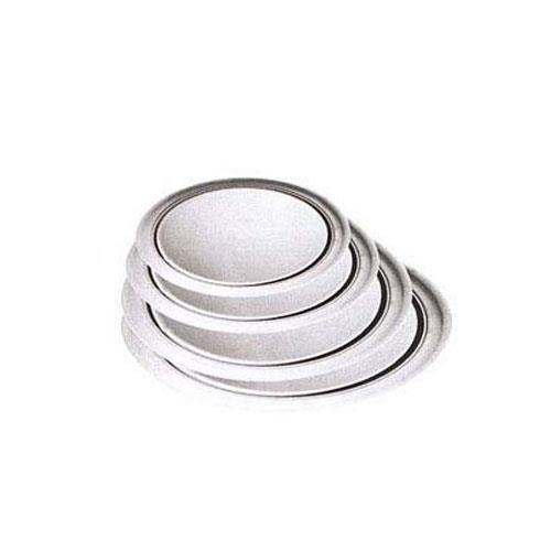 Winco APZT-18 18 in Wide Rim Aluminum Pizza Pan for Restaurant Chef