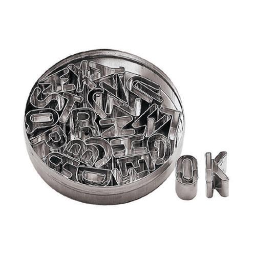 Alphabet Dough Cutter Set at Discount Sku 47301-12 WOR4730112