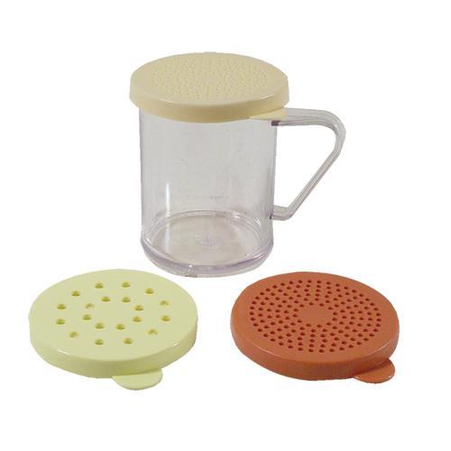 Tablecraft 166f 10 oz shaker set etundra for Kitchen craft baking supplies