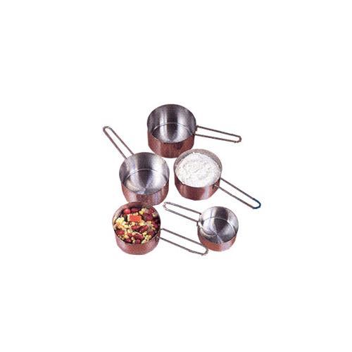 American metalcraft mcw4 measuring cup set etundra for Kitchen craft baking supplies