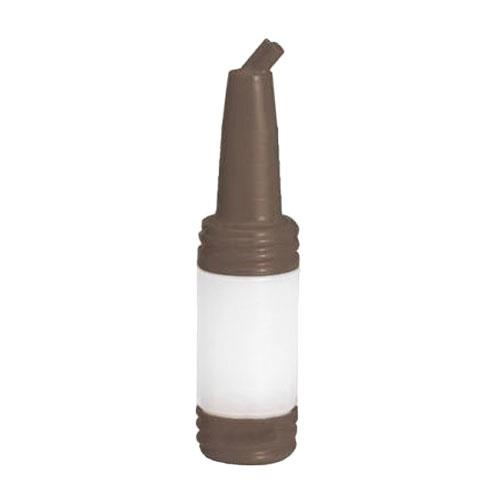 Tablecraft N32BR 32 oz PourMaster Brown Drink Mix Pourer for Restaurant Chef