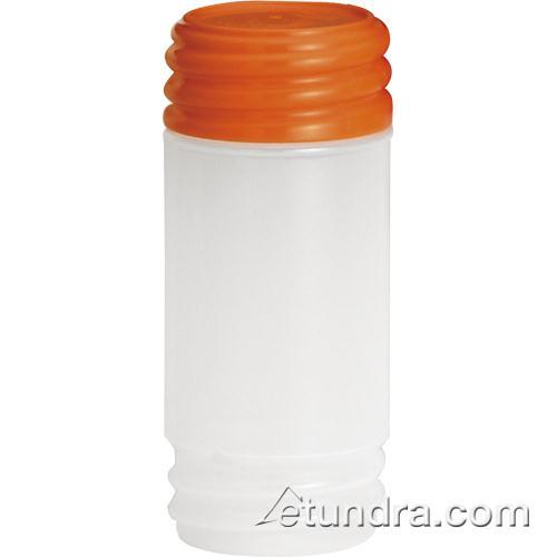 Tablecraft N32SMX 32 oz PourMaster Orange Container with StorMaster Cap for Restaurant Chef