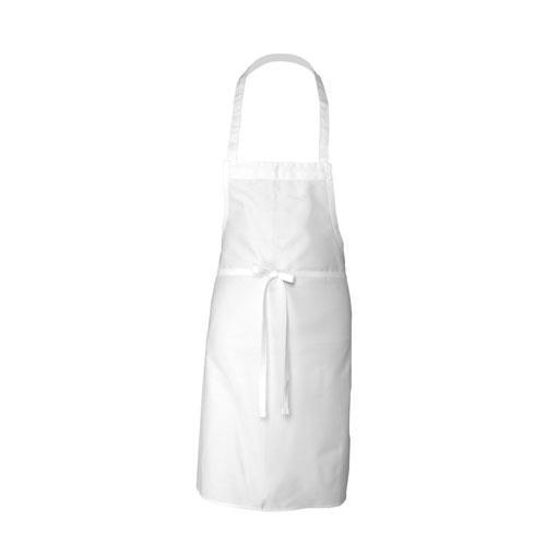 Chef Works - APKDC WHT0 - White Bib Apron