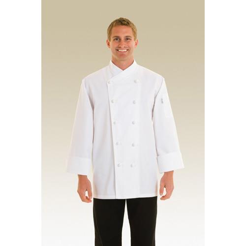 Nice Chef Coat (M) at Discount Sku COPK-M CFWCOPKM