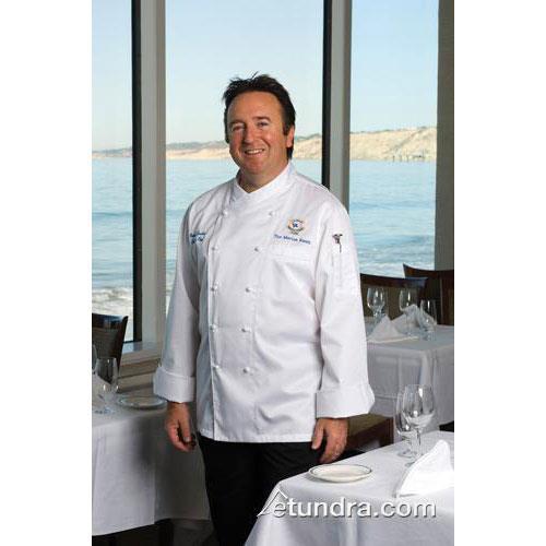 Milan Chef Coat (XS) at Discount Sku ECCW-XS-34 CFWECCWXS34