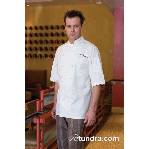 Capri Chef Coat (XL) at Discount Sku ECSS-3XL-58 CFWECSS3XL58