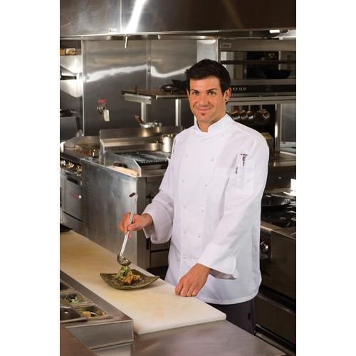 Monza Chef Coat (L) at Discount Sku SE52-L CFWSE52L