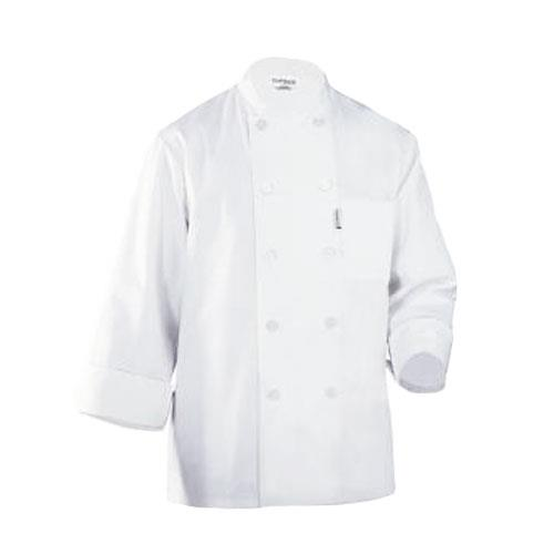 Chef Works WCCW-WHT-2XL LeMans Chef Coat (2XL) for Restaurant Chef