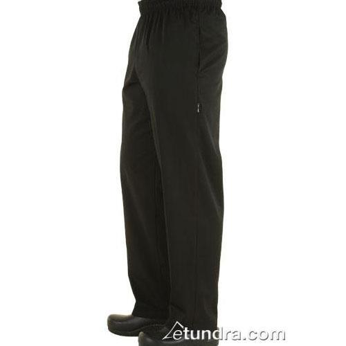 Black Baggy Chef Pants (XS) at Discount Sku NBBZ-BLK-XS CFWNBBZBLKXS