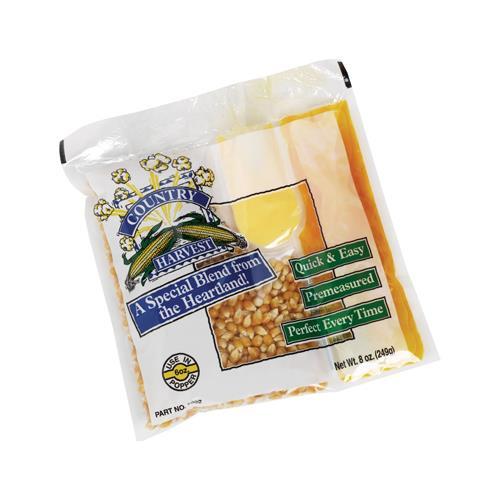 Country Harvest 8 oz Popcorn Portion Pack