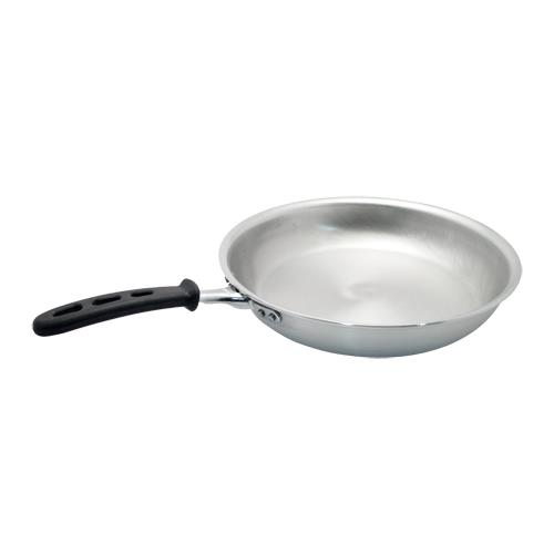 Vollrath 67910 Wear-Ever 10 in Aluminum Fry Pan with Natural Finish for Restaurant Chef