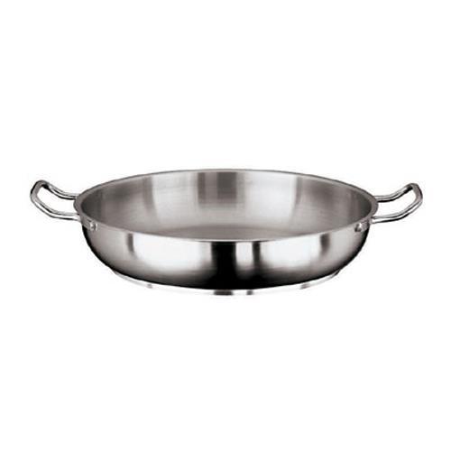 Grand Gourmet 17 3/4 in Stainless Steel Paella Pan at Discount Sku 11115-45 WOR1111545