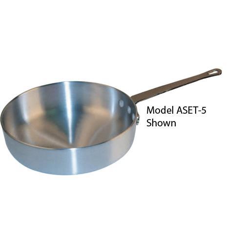 Winware 7 1/2 qt Aluminum Saute Pan at Discount Sku ASET-7 WINASET7