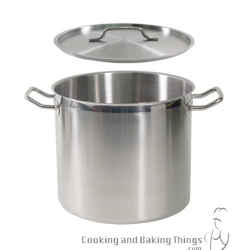 SuperSteel 16 qt Stainless Steel Stock Pot at Discount Sku SPS-16 78640