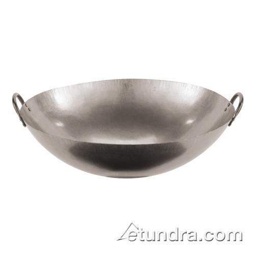 "28"" Dual-Handled Steel Chinese Wok at Discount Sku 49605-71 WOR4960571"