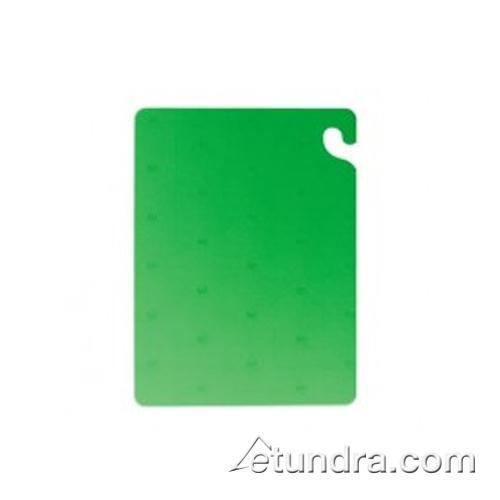 "Cut-N-Carry 10"" x 12"" x 1/2"" Green Cutting Board at Discount Sku CB101212GN SANCB101212GN"