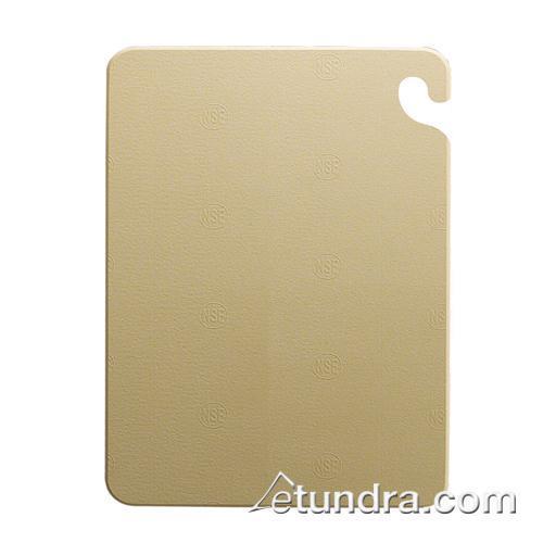 "Cut-N-Carry 12"" x 18"" x 1/2"" Brown Cutting Board at Discount Sku CB121812BR SANCB121812BR"