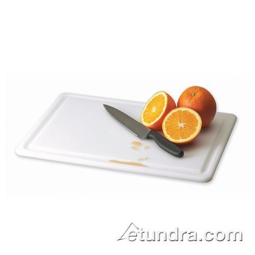 "Kolor-Cut 12"" x 18"" Grooved Cutting Board at Discount Sku CB121812GVWH SANCB121812GVWH"