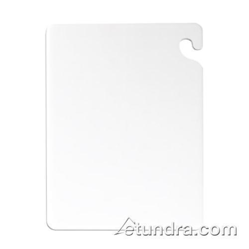 "Cut-N-Carry 12"" x 18"" x 3/4"" White Cutting Board at Discount Sku CB121834WH SANCB121834WH"