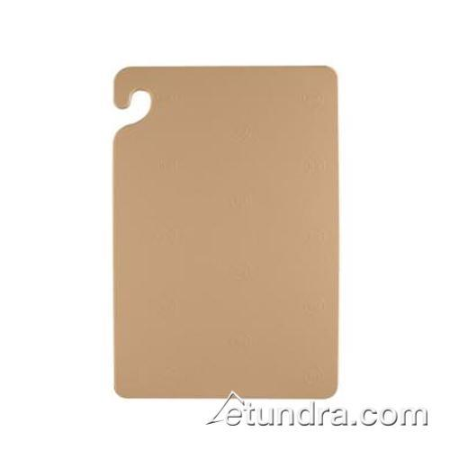 "Cut-N-Carry 18"" x 24"" x 1/2"" Brown Cutting Board at Discount Sku CB182412BR SANCB182412BR"