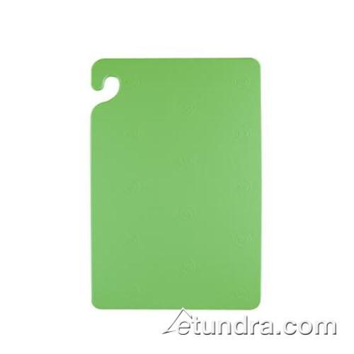 "Cut-N-Carry 18"" x 24"" x 1/2"" Green Cutting Board at Discount Sku CB182412GN SANCB182412GN"