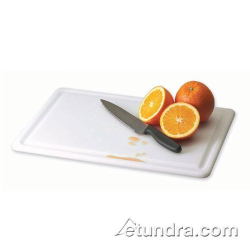 "Kolor-Cut 18"" x 24"" Grooved Cutting Board at Discount Sku CB182412GVWH SANCB182412GVWH"