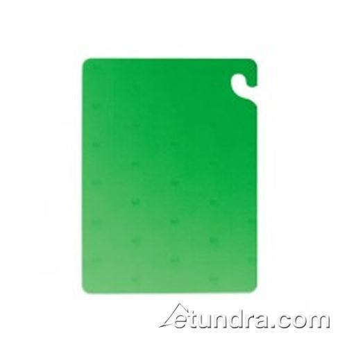 "Cut-N-Carry 18"" x 24"" x 3/4"" Green Cutting Board at Discount Sku CB182434GN SANCB182434GN"