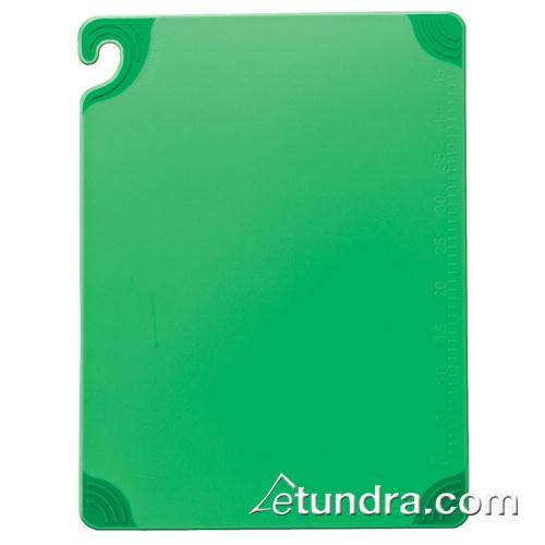 "Saf-T-Grip 12"" x 18"" x 1/2"" Green Cutting Board at Discount Sku CBG121812GN SANCBG121812GN"