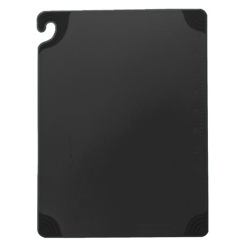 6 in x 9 in x 3/8 in Black Cutting Board at Discount Sku CBG6938BK 76507