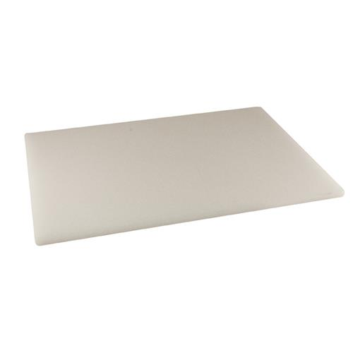 Winco cbxh 1218 12 in x 18 in x 1 in white cutting for White cutting board used for