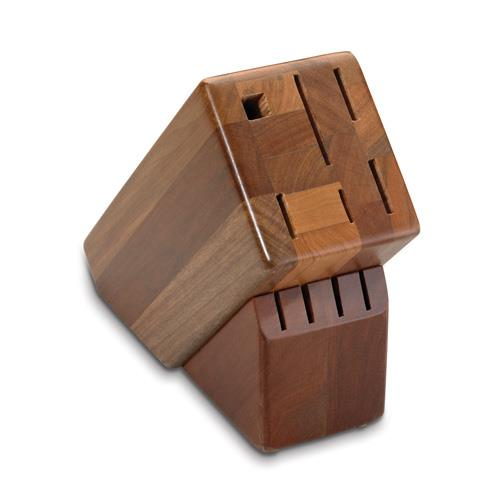 10 Slot Wood Knife Block at Discount Sku 41490 FOR41490