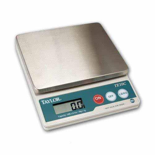Taylor Precision Te10ft Digital Portion Scale Etundra