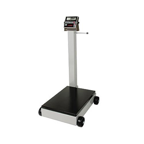 Detecto 8852f 204 1000 lb x 5 lb digital receiving for 1000 lb floor scale