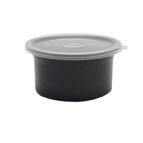 06 qt Classictrade Black Crock with Lid