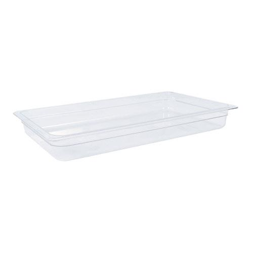 Cambro 12CW Camwear Full Size 2 1/2 in Deep Food Pan for Restaurant Chef