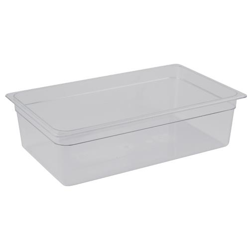 Cambro 18CW Camwear Full Size 8 in Deep Food Pan for Restaurant Chef