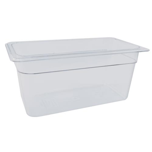 Cambro 38CW Camwear Third Size 8 in Deep Food Pan for Restaurant Chef