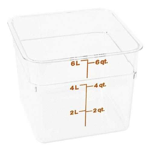 CamSquare 6 qt Food Storage Container at Discount Sku 6SFSCW 78505