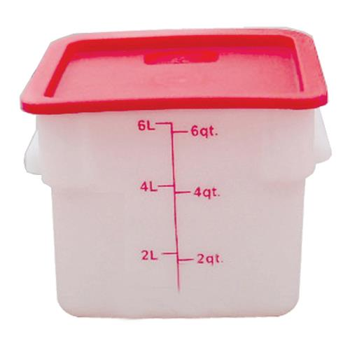 6 qt Food Storage Container at Discount Sku PLSFT006PP THGPLSFT006PP