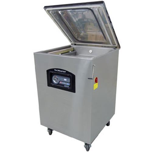 Vacmaster vp545 1 5 hp vacuum sealer withgas flush for Food bar packaging machine