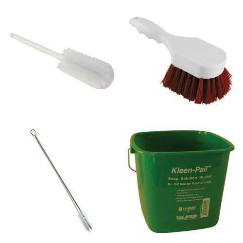 Industrial Kitchen Utensils: Commercial - Bovine Grinder Brush Kit