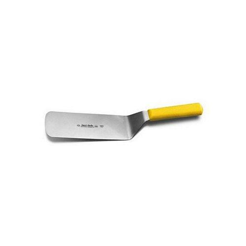 Yellow Kitchen Equipment: Dexter Russell - S286-8Y-PCP-8in X 3in Yellow Turner
