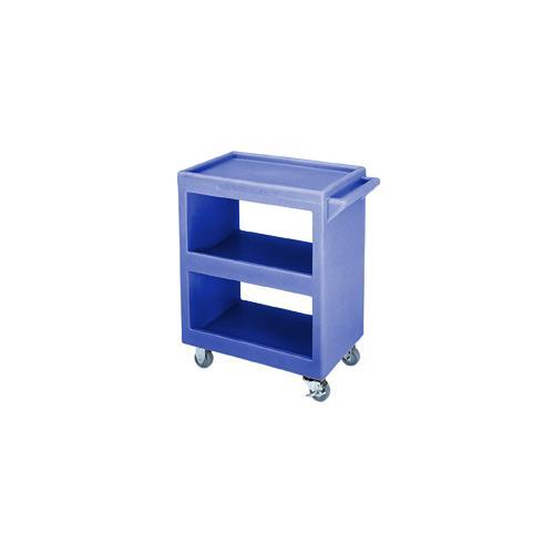 28 in X 16 in Blue Service Cart
