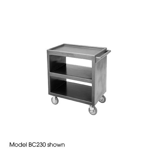 33 1/4 in X 20 in Gray Service Cart
