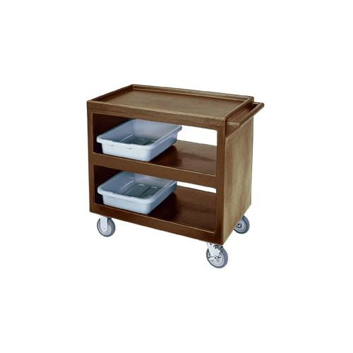 37 1/4 in X 21 1/2 in Brown Service Cart